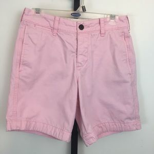 Abercrombie & Fitch Shorts Mens 28 Pink Button Fly